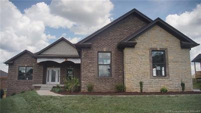 Jeffersonville Single Family Home For Sale: 2994 Crystal Lake Drive