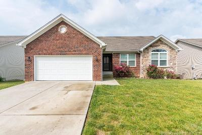 Jeffersonville Single Family Home For Sale: 1605 Jacobs Lane