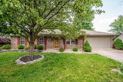 Jeffersonville Single Family Home For Sale: 3104 Clearstream Way