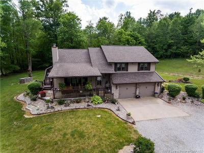 Scott County Single Family Home For Sale: 8344 E State Road 56