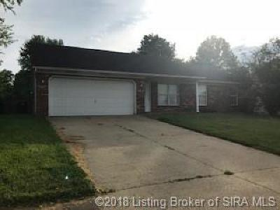 Jeffersonville Single Family Home For Sale: 1212 Windmill Lane