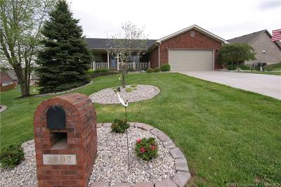 Clark County Single Family Home For Sale: 2802 Boulder Court