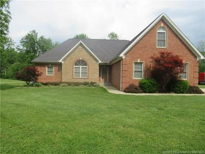 Clark County Single Family Home For Sale: 1906 Caney Road