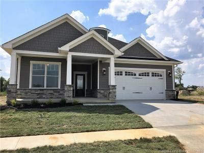 Jeffersonville Single Family Home For Sale: 2009 Villa View Court