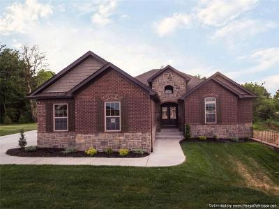 Jeffersonville Single Family Home For Sale: 2993 Crystal Lake Drive