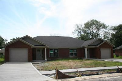 Jeffersonville Single Family Home For Sale: 1004 Hadley Drive