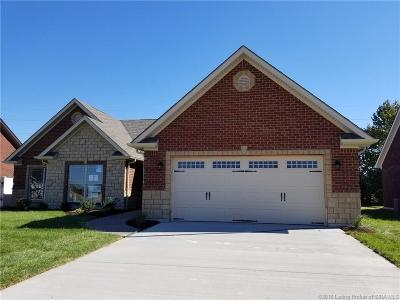 Jeffersonville Single Family Home For Sale: 5718 Sugar Berry Lane