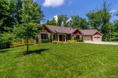 Floyd County Single Family Home For Sale: 4945 S Skyline Drive