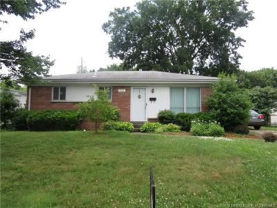 Jeffersonville Single Family Home For Sale: 1801 Jonquil Drive
