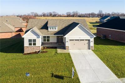 Jeffersonville Single Family Home For Sale: 3162 (Lot 801) Badger Run