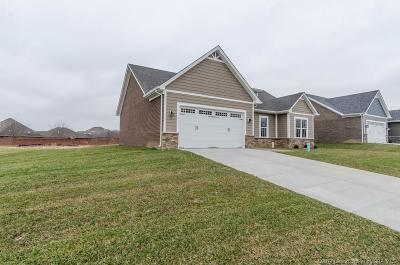 Jeffersonville Single Family Home For Sale: 3156 (Lot 804) Badger Run