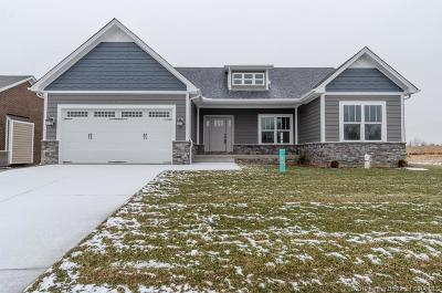Jeffersonville Single Family Home For Sale: 3154 (Lot 805) Badger Run