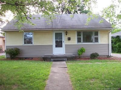 New Albany IN Single Family Home For Sale: $84,900