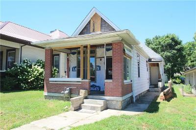 New Albany IN Single Family Home For Sale: $37,900