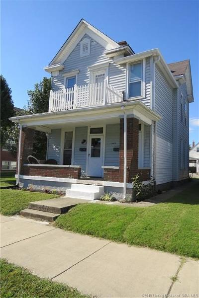 New Albany Single Family Home For Sale: 1803 Culbertson Avenue