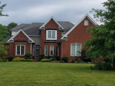 Floyds Knobs Single Family Home For Sale: 988 Baumann Drive N