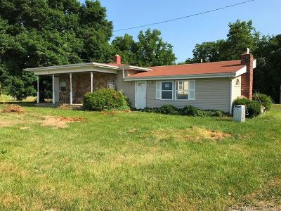Scott County Single Family Home For Sale: 1373 E Cutshall Road
