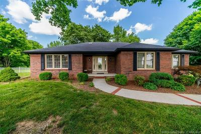 Jeffersonville Single Family Home For Sale: 2312 Utica Sellersburg Road