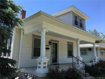New Albany Single Family Home For Sale: 1411 State Street