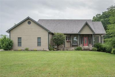 Scottsburg IN Single Family Home For Sale: $399,900
