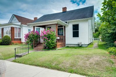 New Albany IN Single Family Home For Sale: $159,000