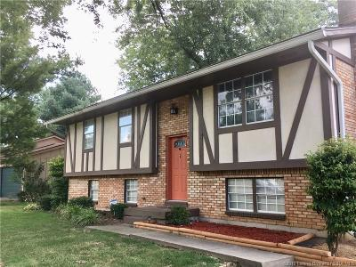 Jeffersonville Single Family Home For Sale: 2708 Crums Lane