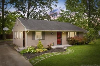 New Albany IN Single Family Home For Sale: $135,000
