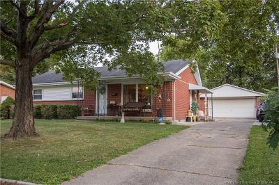Jeffersonville Single Family Home For Sale: 1902 N Larkspur Drive