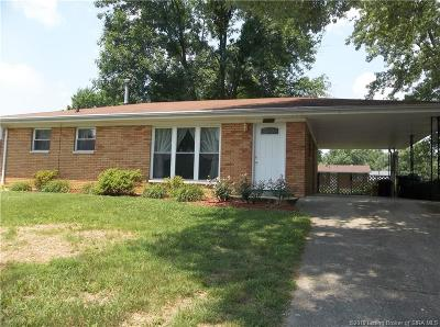 New Albany IN Single Family Home For Sale: $110,000