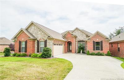 Floyds Knobs Single Family Home For Sale: 2601 W Deville Court