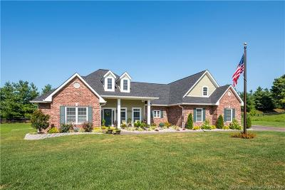 Floyds Knobs Single Family Home For Sale: 4519 Augusta National Drive