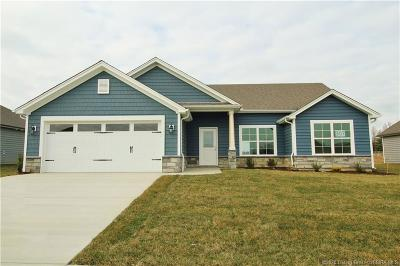 Sellersburg Single Family Home For Sale: 5425 - Lot 307 Catalina Trail