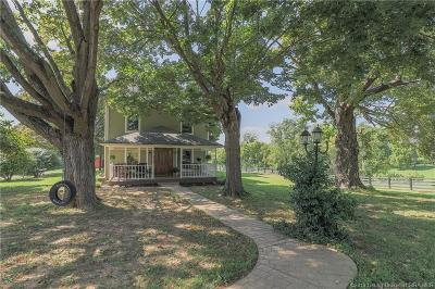 Floyd County Single Family Home For Sale: 9150 Cooks Mill Road