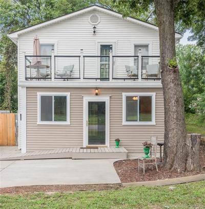 Jeffersonville Single Family Home For Sale: 2021 Hamburg Pike
