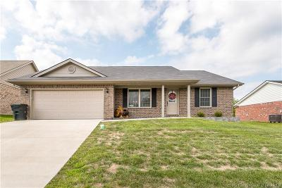 Sellersburg Single Family Home For Sale: 2251 Morning Glory Drive