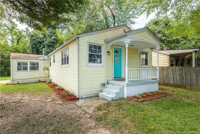 Clarksville Single Family Home For Sale: 1103 N Taggart Avenue
