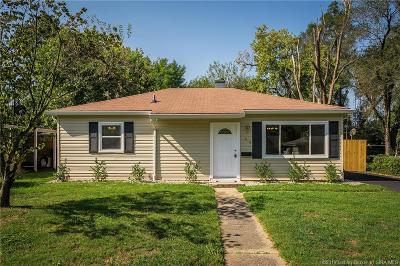 Jeffersonville Single Family Home For Sale: 909 Sharon Drive