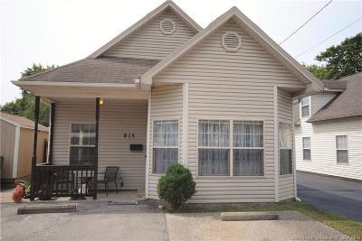 Jeffersonville Single Family Home For Sale: 815 Meigs Avenue
