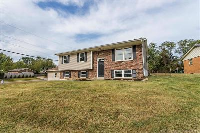 Jeffersonville Single Family Home For Sale: 1310 Ridgeway Drive