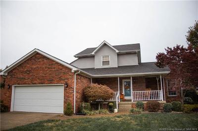 Jeffersonville Single Family Home For Sale: 3210 Lakewood Boulevard