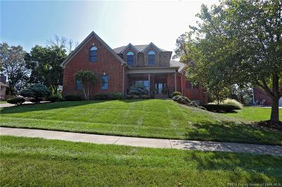 Sellersburg Single Family Home For Sale: 3002 Plum Woods Court