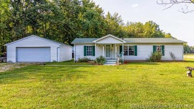 Charlestown Single Family Home For Sale: 20623 Charlestown Bethlehem Road