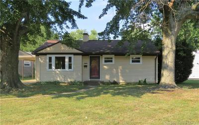 Jeffersonville Single Family Home For Sale: 1504 Elliott Avenue