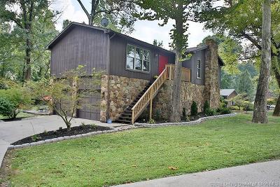 Jeffersonville Single Family Home For Sale: 1806 Utica Pike