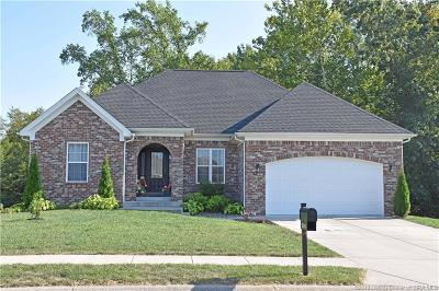Sellersburg Single Family Home For Sale: 2311 Buttercup Circle