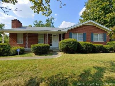Jeffersonville Single Family Home For Sale: 1805 Lilly Lane