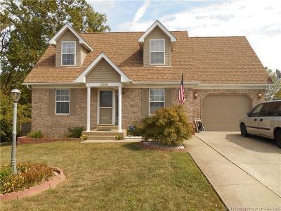 Jeffersonville Single Family Home For Sale: 3509 Sun Rise Circle