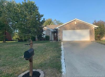 Jeffersonville Single Family Home For Sale: 2826 Boulder Ridge Drive
