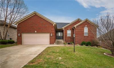 Jeffersonville Single Family Home For Sale: 3013 New Chapel Road
