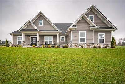 Floyds Knobs Single Family Home For Sale: 3002 Andres Court Lot #21